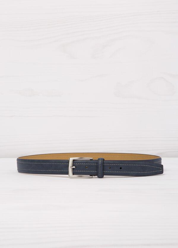 Cintura similpelle cuciture contrasto | OVS