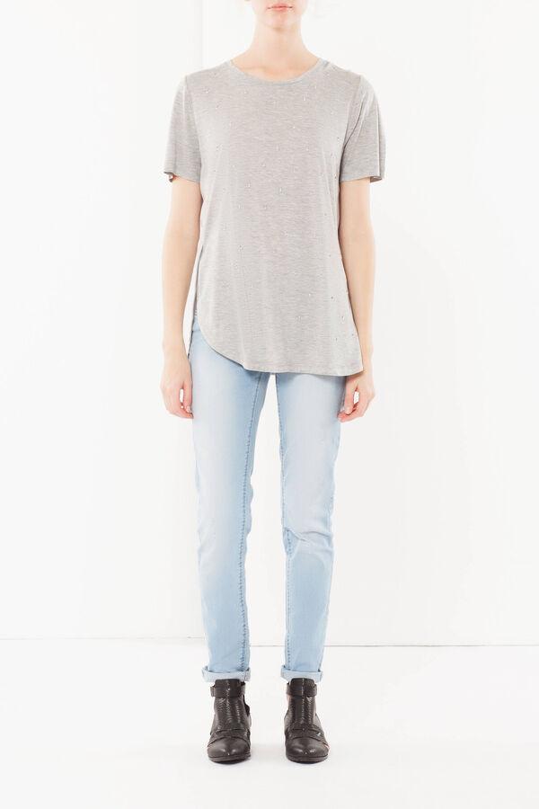 T-shirt con strass | OVS