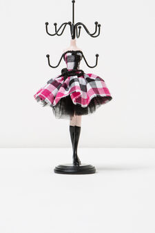 Doll jewellery stand, Black/Pink, hi-res