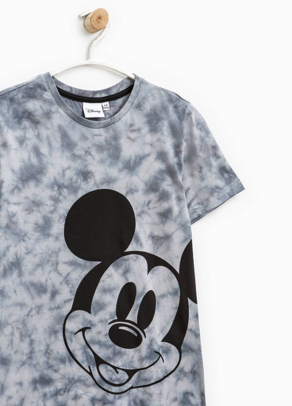 Mickey Mouse mis-dyed-effect T-shirt | OVS