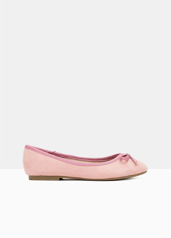 Ballerina pumps with bow on tip | OVS