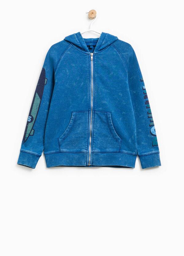 Sweatshirt with print on sleeves | OVS