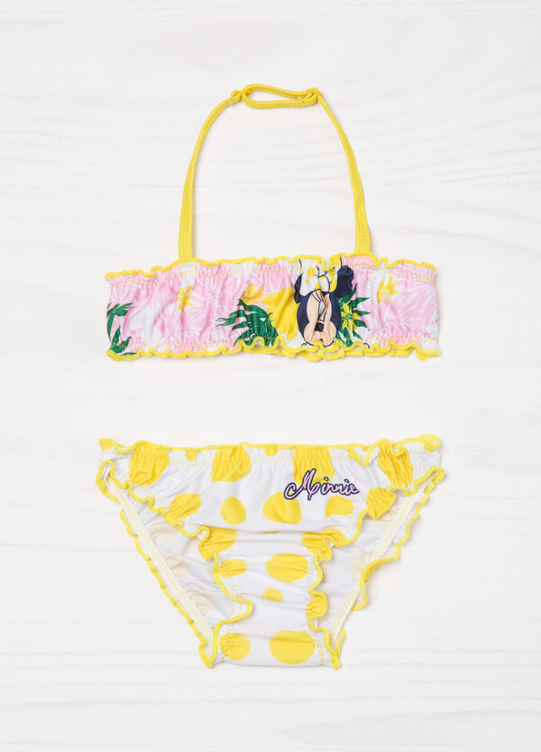 Stretch bikini with Minnie Mouse print | OVS