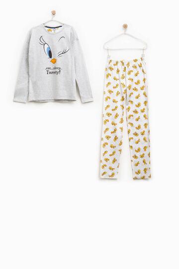 100% Biocotton Tweetie Pie pyjamas