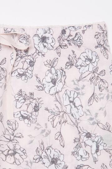100% viscose pyjama trousers., Pink, hi-res