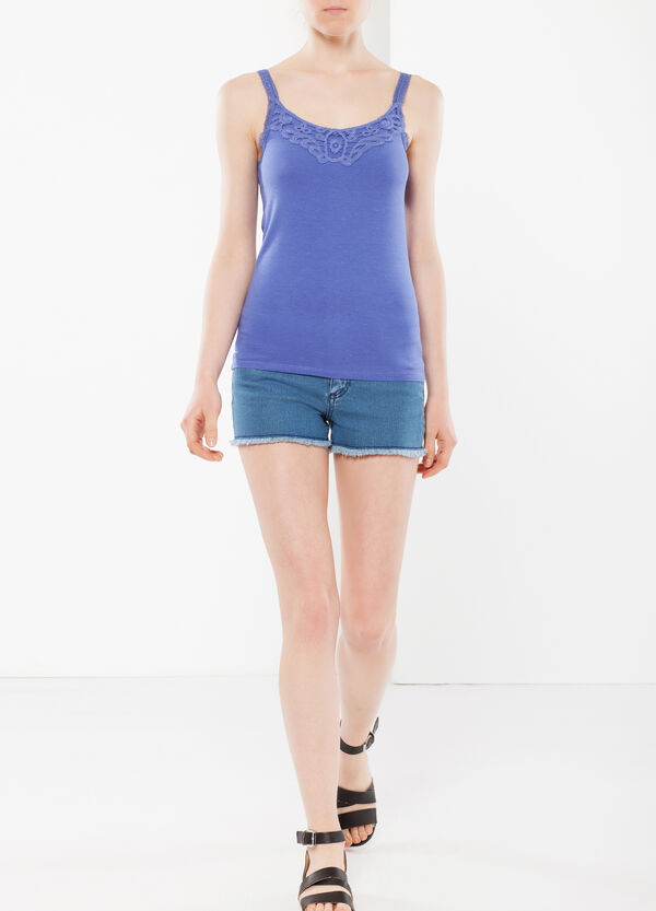 Top with lace | OVS