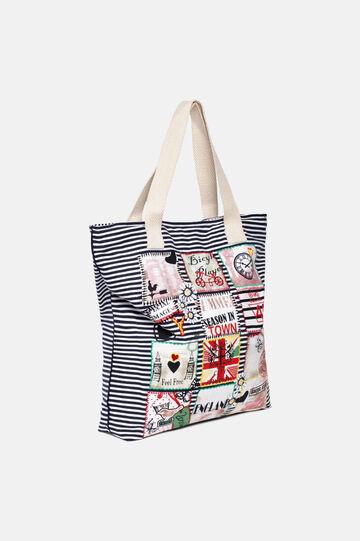 Bag with patch, Multicolour, hi-res
