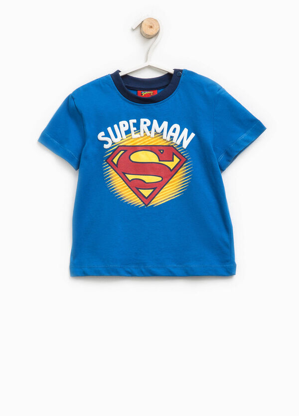 T-shirt in cotone stampa Superman | OVS