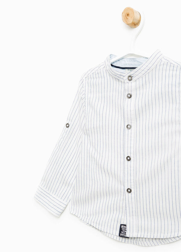 10% cotton striped shirt | OVS
