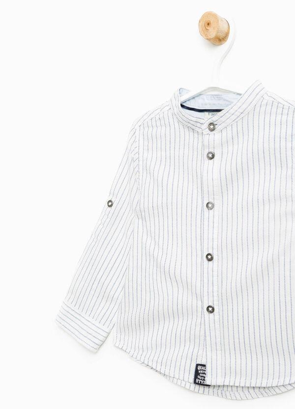 Camicia in puro cotone a righe | OVS