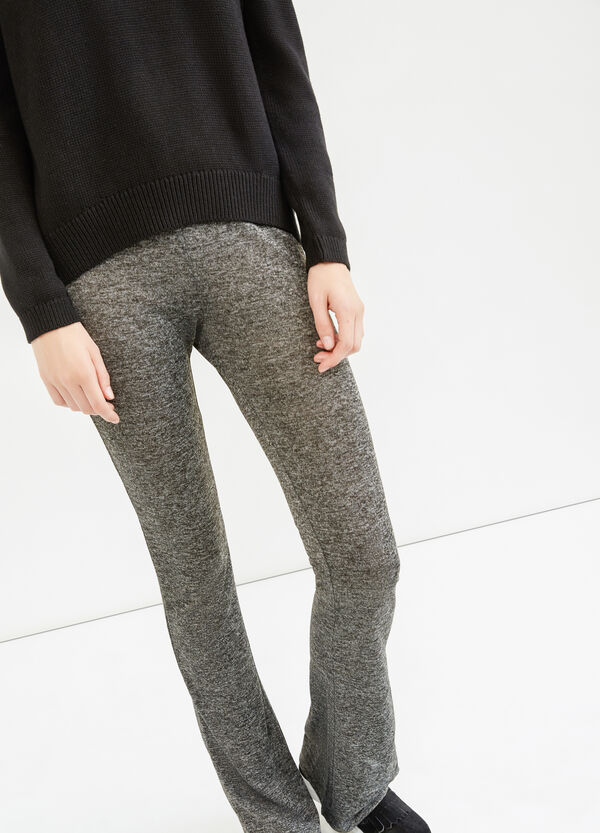 Stretch mélange leggings | OVS