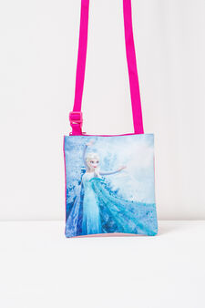 Frozen print shoulder bag, Pink, hi-res