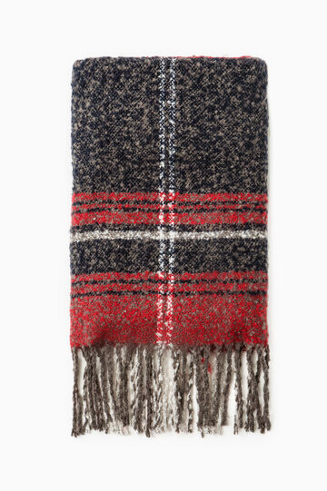 Fringed scarf, Multicolour, hi-res