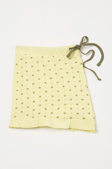 Printed pyjama shorts in cotton