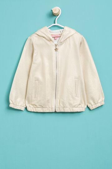 Cotton hoodie, Golden Yellow, hi-res
