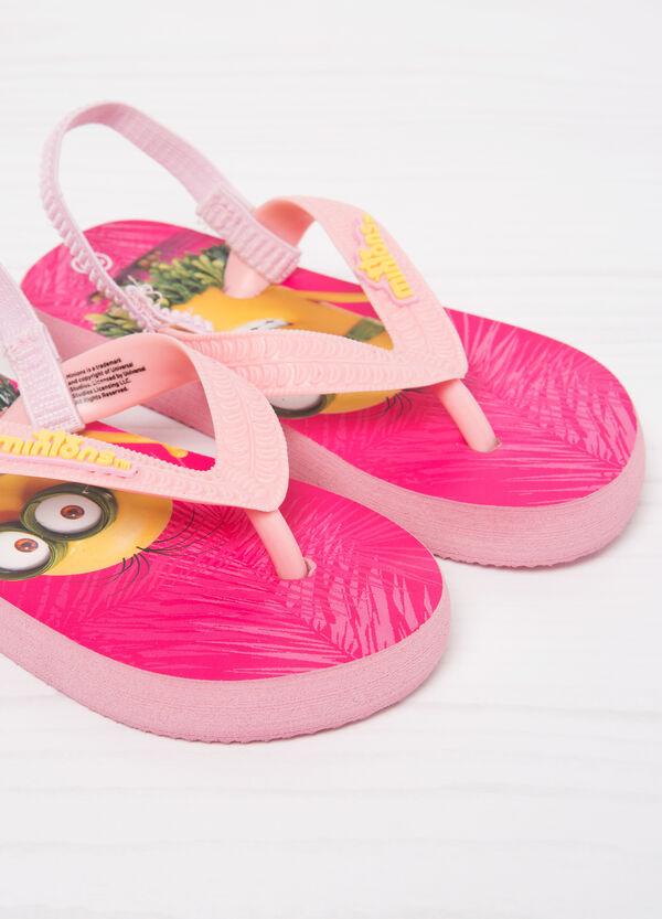 Minions print thong sandals | OVS
