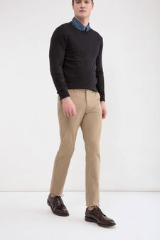 Rumford stretch trousers, Beige, hi-res