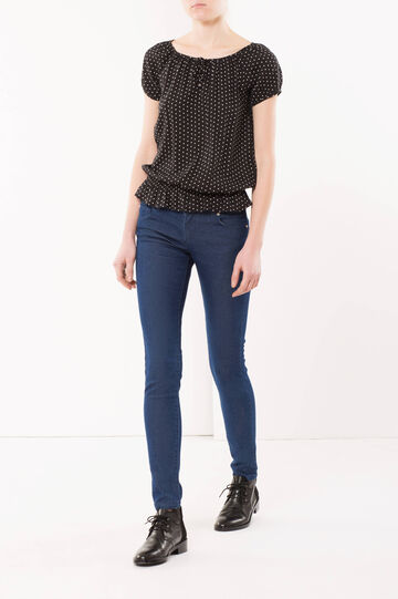 Jeans skinny fit sciacquato, Lavaggio scuro, hi-res