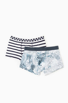 Set due boxer Jean Paul Gaultier for OVS, Blu navy, hi-res
