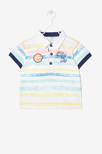Polo with print on the back, Multicolour, hi-res