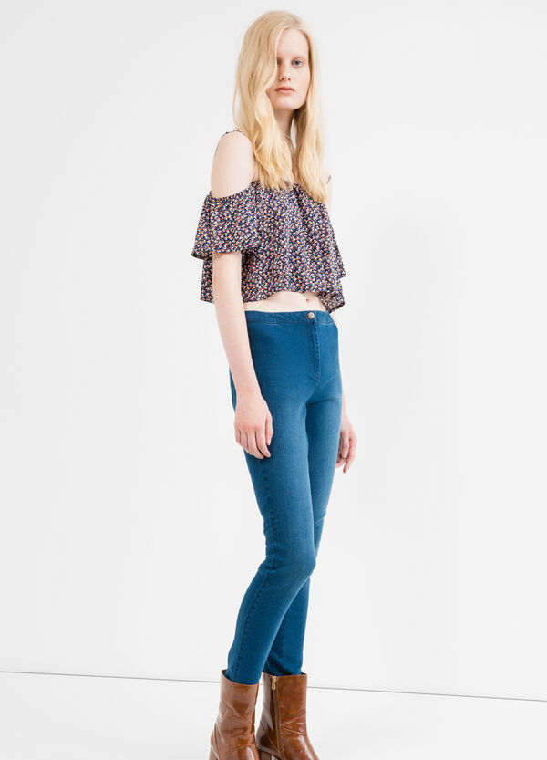Stretch jeans with high waist | OVS