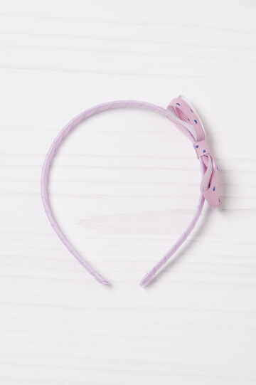 Heart patterned hair band