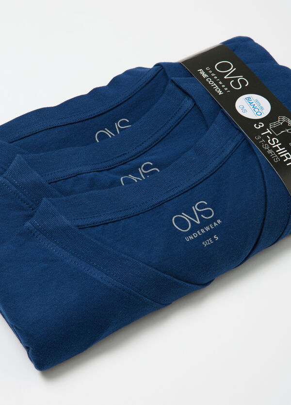 Set tre t-shirt intime scollo a V | OVS