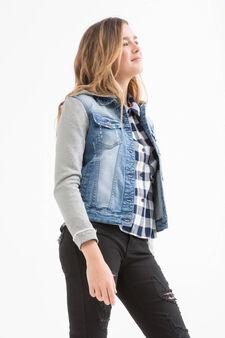Giubbotto di jeans Teen, Denim, hi-res
