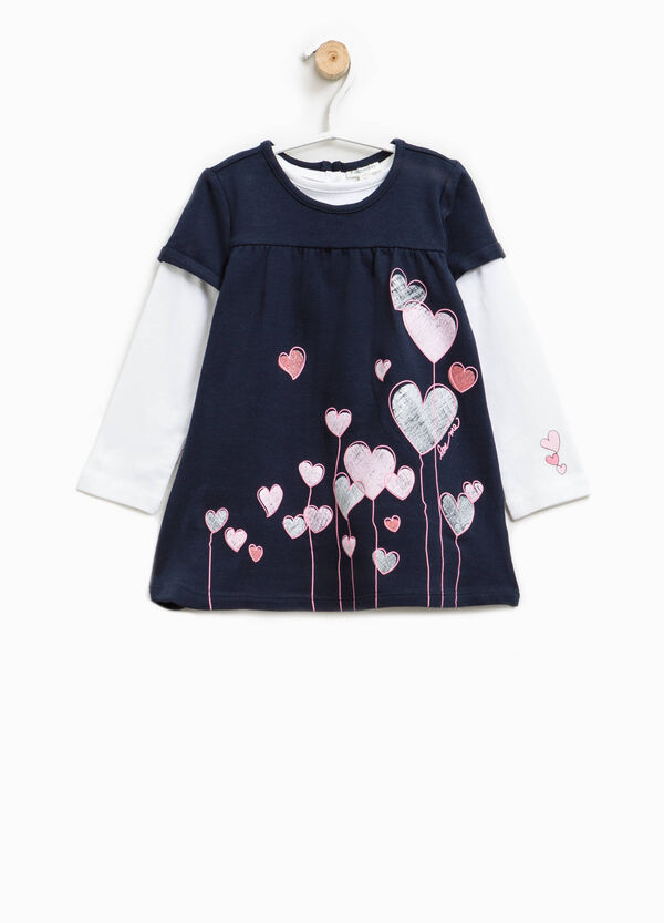T-shirt and dress set with short sleeves | OVS