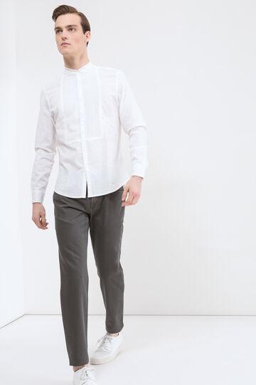 5-pocket, regular-fit trousers, Dark Grey, hi-res