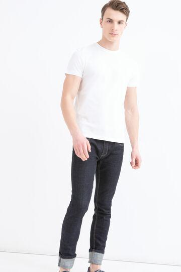 T-shirt girocollo puro cotone
