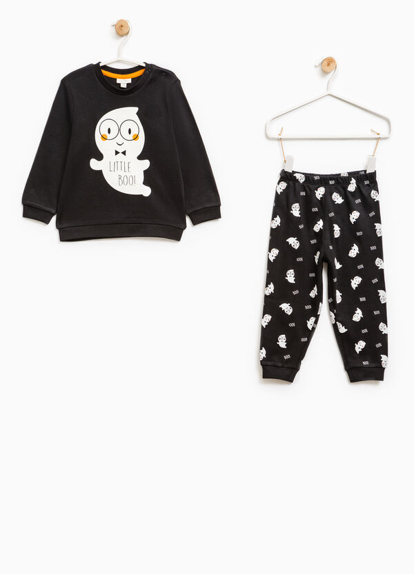 Ghost patterned cotton pyjamas | OVS