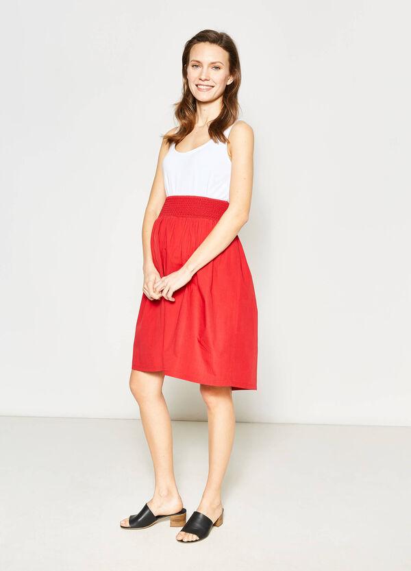 MUM skirt with elastic waist band | OVS