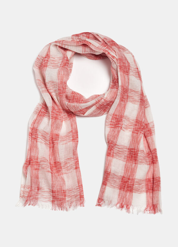 Checked scarf | OVS