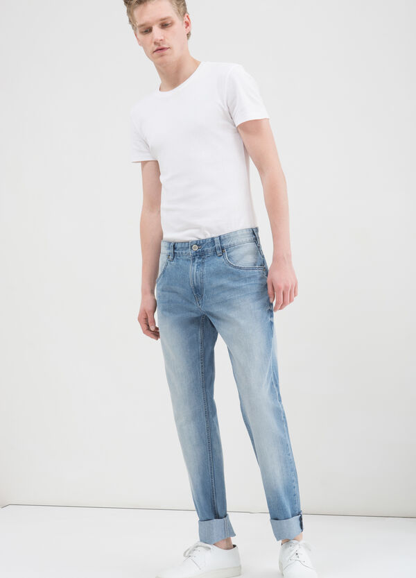 Jeans regular fit cinque tasche | OVS