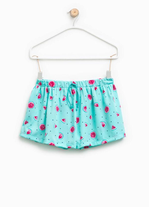 Fruit motif patterned shorts | OVS