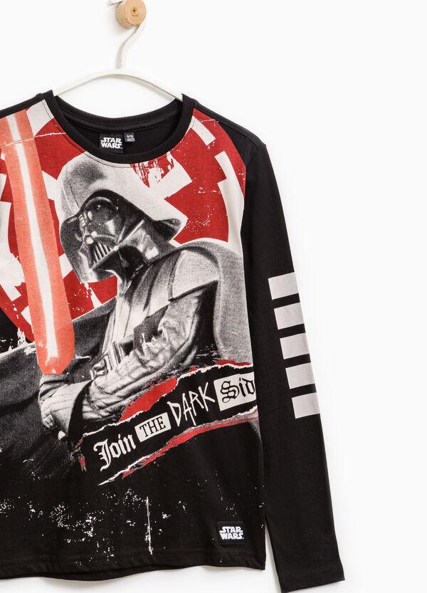 Star Wars maxi print cotton T-shirt | OVS