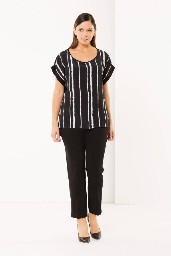 Curvy striped blouse | OVS
