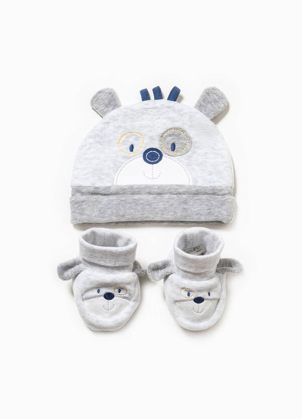 Hat and shoes set with ears | OVS