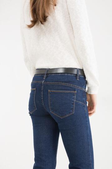 Skinny-fit stretch jeans, Dark Blue, hi-res