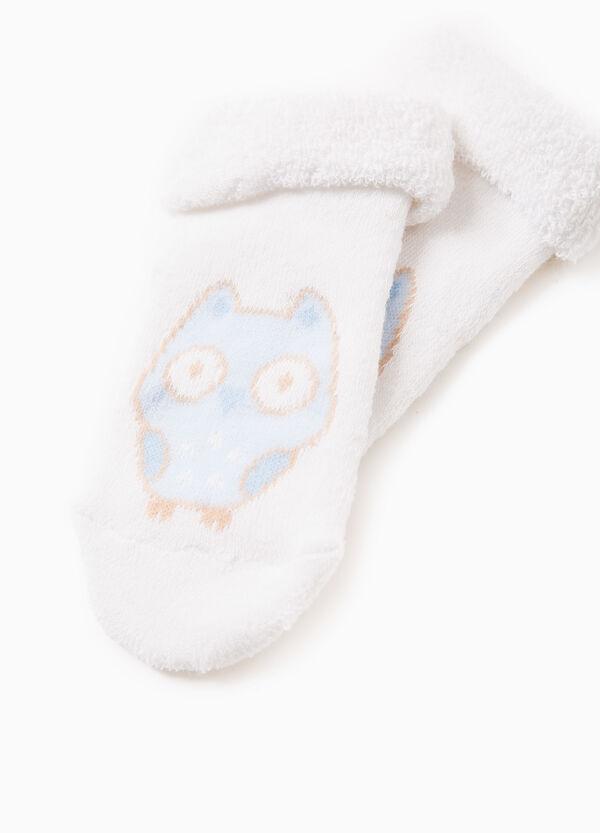 Calcetines cortos con bordado de animal | OVS