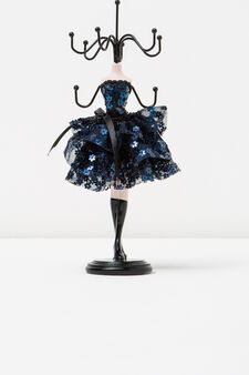 Doll jewellery stand, Dark Blue, hi-res