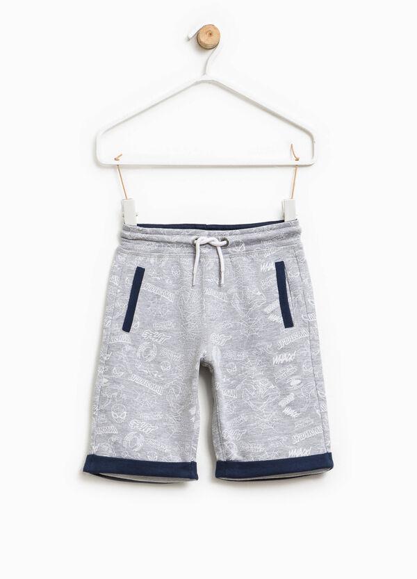Spiderman pattern Bermuda shorts | OVS
