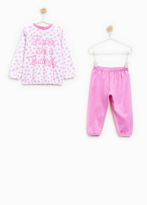 Pijama de algodón con mariposas | OVS
