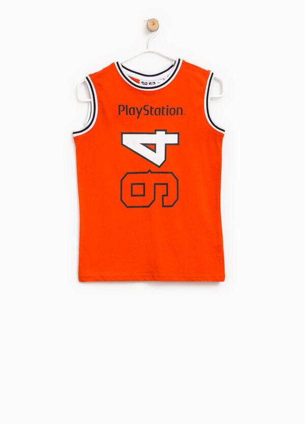 Vest with PlayStation print | OVS