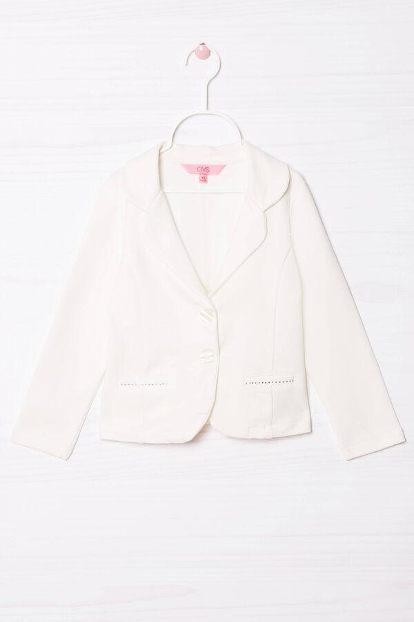 Stretch jacket with diamanté appliqué | OVS