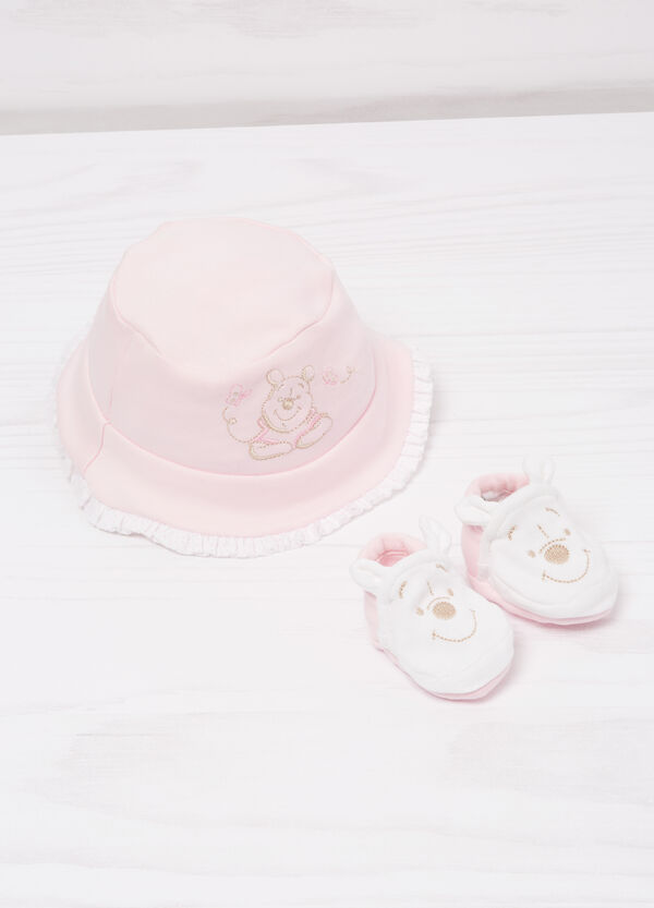 Biocotton hat and shoes set | OVS