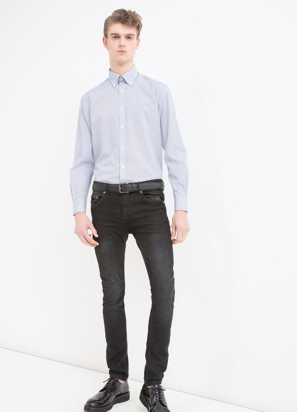 Check regular fit shirt | OVS