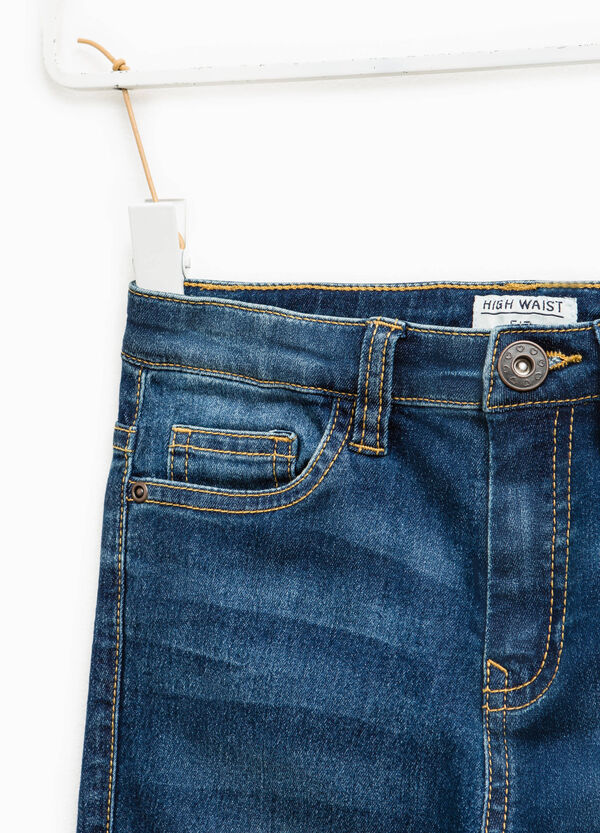 Jeans used stretch con baffature | OVS