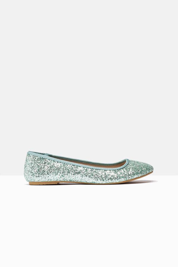 Glitter ballerina pumps | OVS